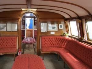 The opulent interior
