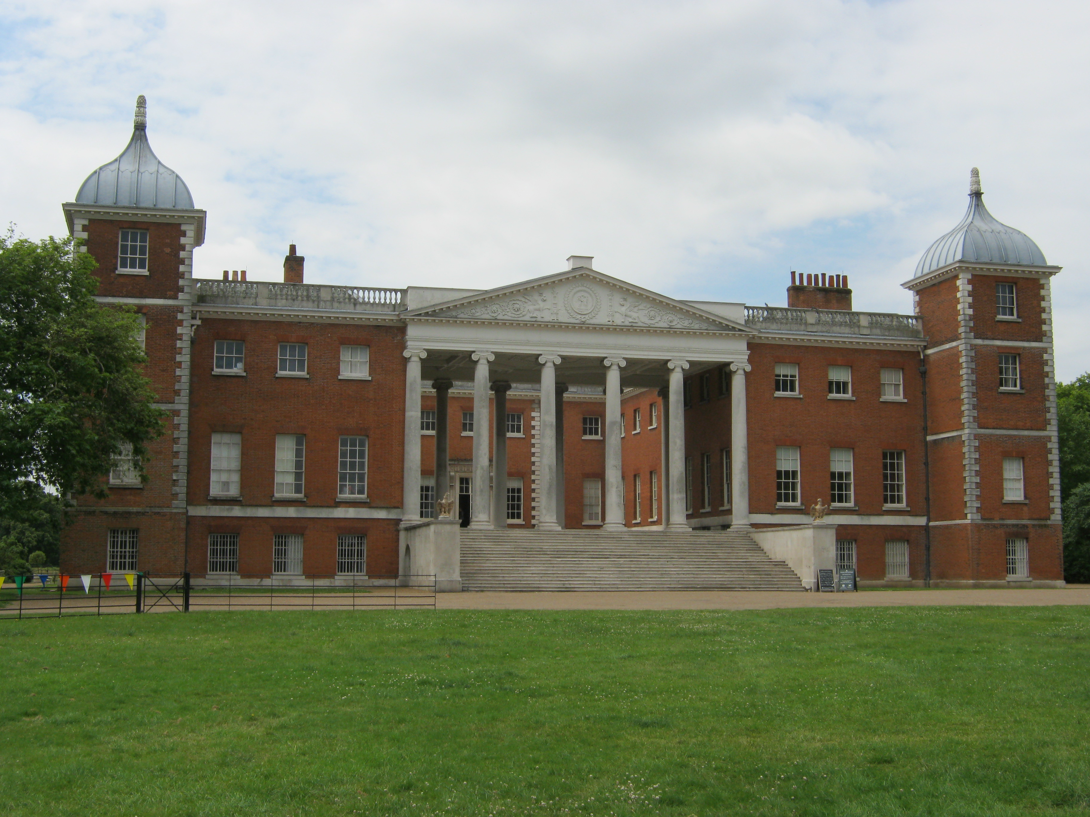 Even With The Nifty Little Satnav That I Bought When Started This Challenge Finding Osterley Park Was Far From Straightforward NT Handbook Helpfully